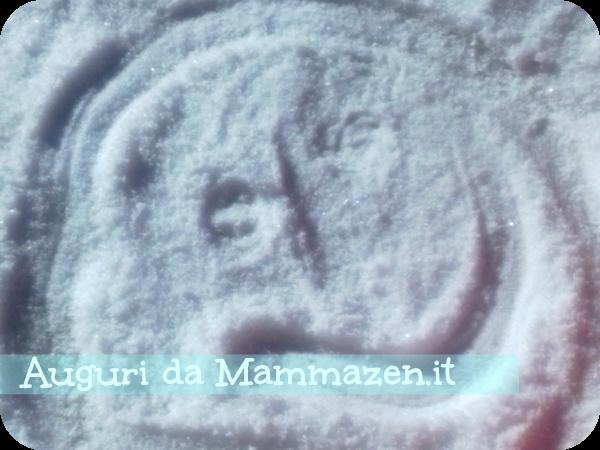 pupazzo di neve mammazen.it